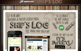 Mercury Marine Ships Log App