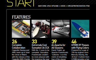 Magnum Marine GT Featured In Speed On The Water Premier Issue