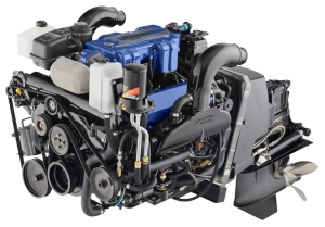 Mercury Racing's New 520 Engine