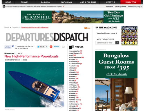 GTMM Showcased In Departures Magazine Luxury Blog