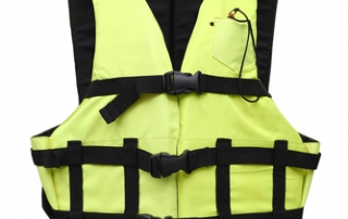 Boat Safer by Wearing a Life Jacket